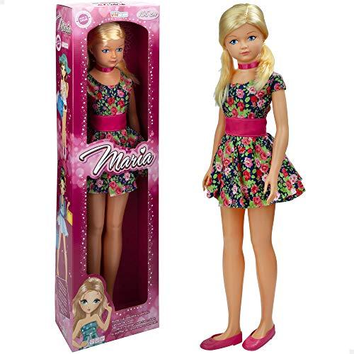 Muñeca grande 105 cm María, Muñecas de juguete, Juguetes niños 3 años, Muñeca...