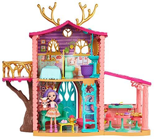 Enchantimals - Supercasa del bosque y muñeca Danessa, edad recomendada: 4 - 10 años...