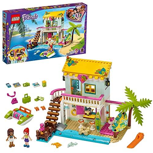 LEGO 41428 Friends Casa en la Playa Juguete de Construcción para Niños y Niñas de...