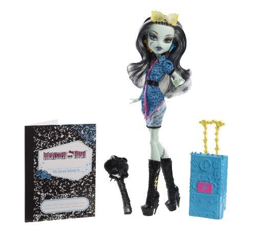 Monster High - Muñeca Scaris Deluxe, Frankie Stein (Mattel Y7647)