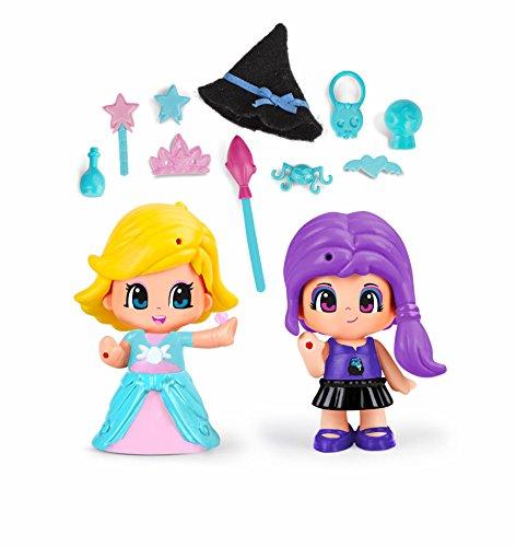 Pinypon - Princesa Y Bruja, Incluye 2 Figuras y Accesorios, para niños y niñas a...
