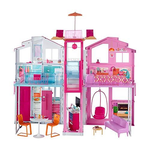 Barbie - Supercasa - casa muñecas, regalo para niñas y niños 3-9 años (Mattel...