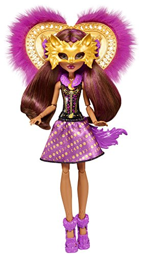 Monster High FKP47 Ghoul To Wolf Clawdeen Transformation Doll