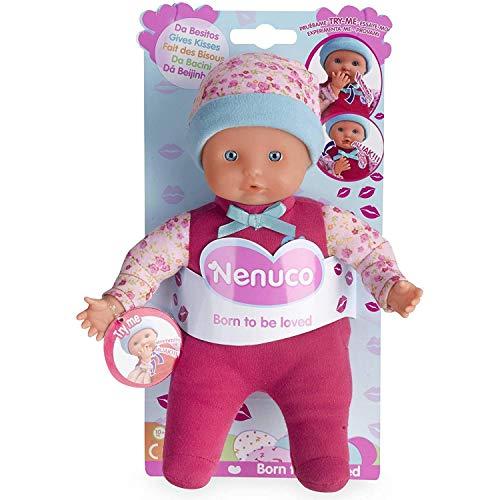 Nenuco de Famosa Da Besitos, muñeca bebé con Sonidos, para niñas y niños a Partir...