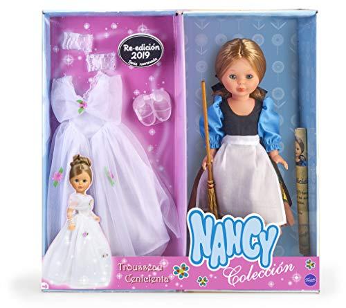 Nancy Colección - Reedición Trousseau Cenicienta, Muñeca para Niños y...