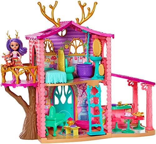 Enchantimals - Casa Danessa con muñeca Danessa y mascota, casa de muñeca con...