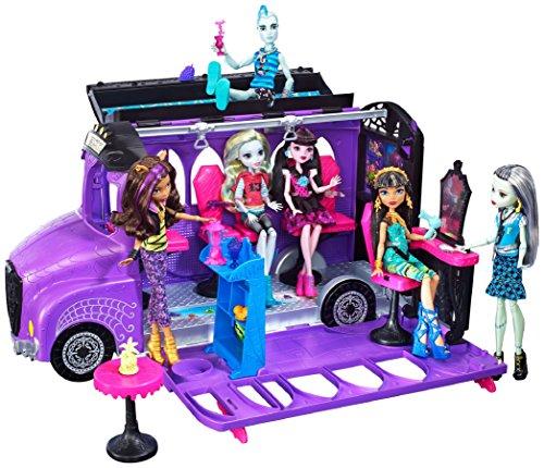 Mattel – Monster High – FCV63 – Juego de Juguete de Lujo para autobús y salón...
