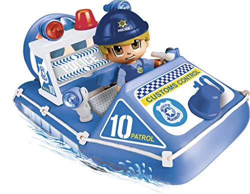 Pinypon Action - Lancha de policía con 1 Figura, para niños y niñas de 4 a 8...