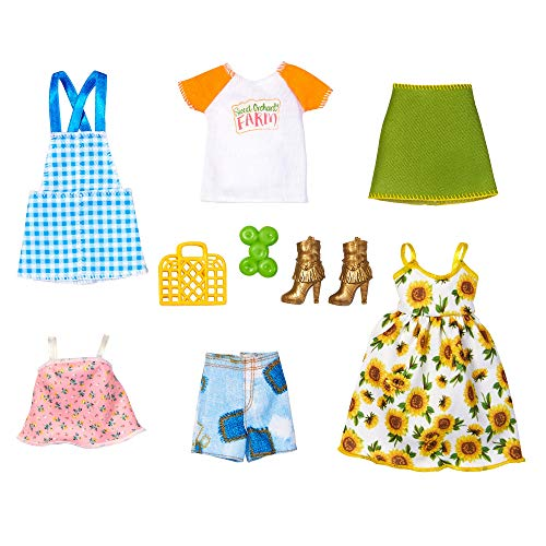 Barbie GRANJERA Conjunto DE Moda (Mattel GJB64)