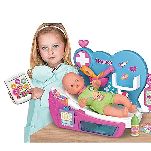Nenuco - Doctora Por Qué Llora, cura como un doctor a tu muñeco bebé con los...