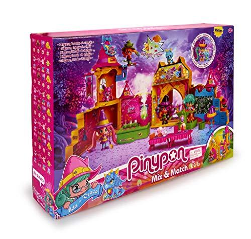 Pinypon Escuela de Brujitas - Set de juguete y accesorios con 1 figura para niños y...