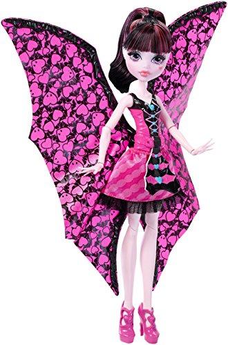 Monster High - Draculaura monstruita-murciélago (Mattel DNX65)