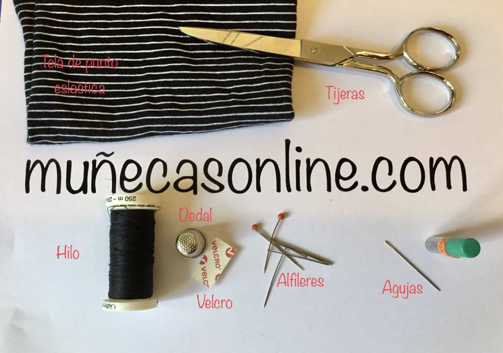 como hacer ropa para muñecas