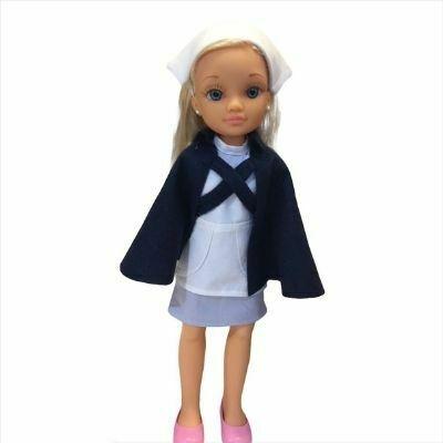 Patrones traje de Nancy Enfermera